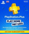 365 Day UK PSN Plus Subscription