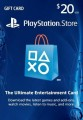 $20 USA PlayStation Network Card (PS Vita/PS3/PS4)