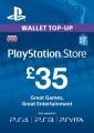 £35 UK PlayStation Network Card (PS Vita/PS3/PS4)