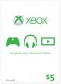$5 Xbox Live Gift Card (Xbox One/360)