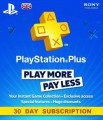 30 Day UK PSN Plus Subscription
